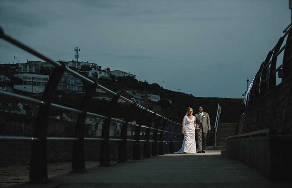 Penventon hotel wedding photo
