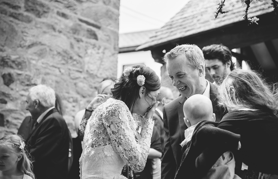 St Agnes Church and Driftwood Spars wedding