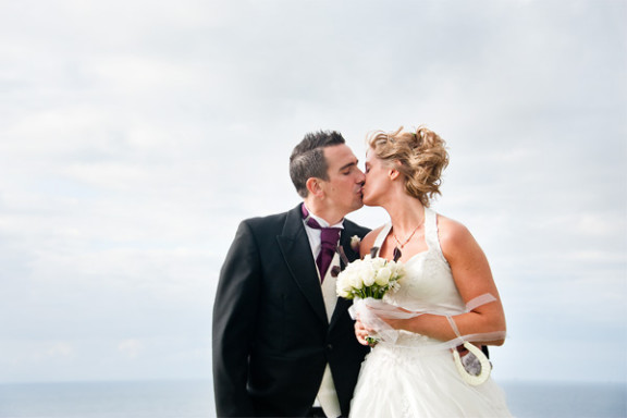 Gemma & Danny's Wedding, The Atlantic Hotel, Newquay