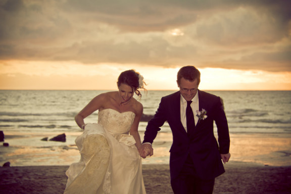Nikki & Alistair's Wedding at Lusty Glaze Beach, Newquay