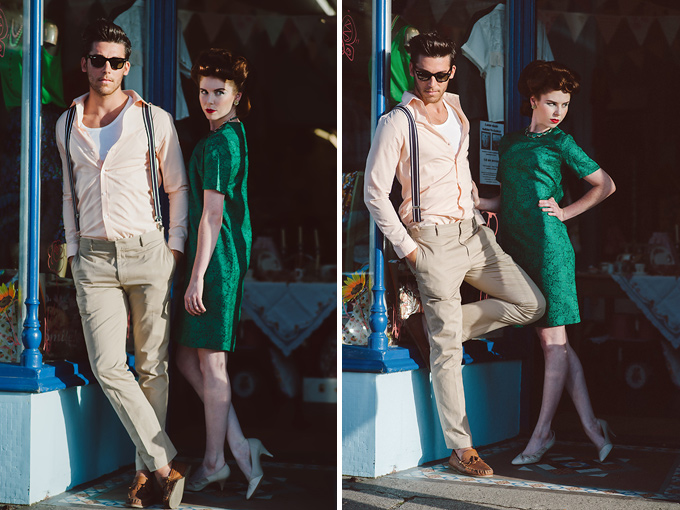 vintage fashion photography Newquay