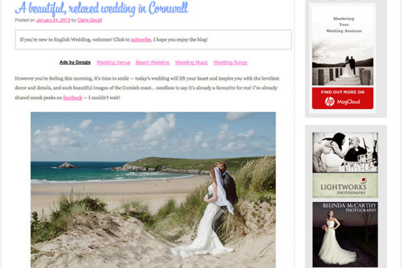 English Wedding Blog Real Wedding Feature