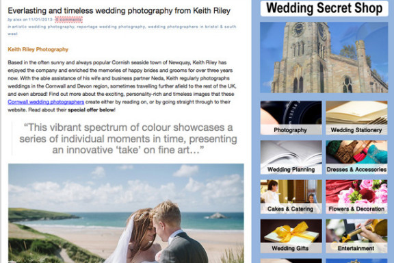 Press Feature: The Wedding Secret