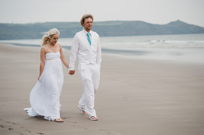 beach wedding Cornwall (12)