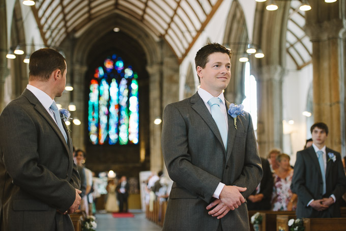 Wedding photo at St Andrew's Church in Plymouth, Devon (50)