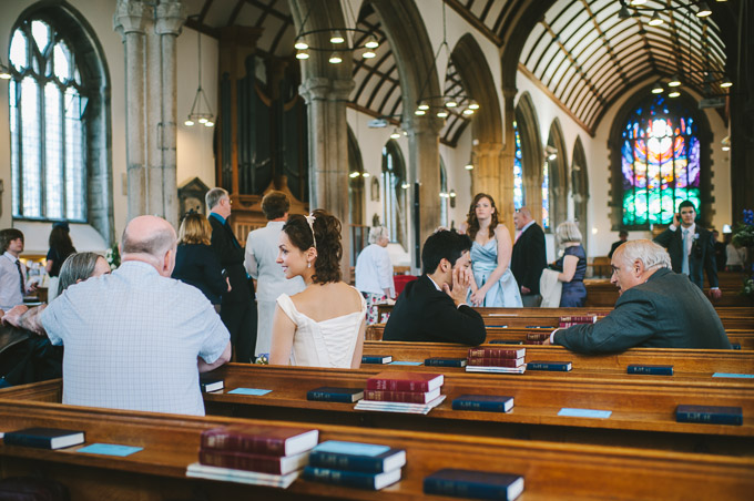 Wedding photo at St Andrew's Church in Plymouth, Devon (110)