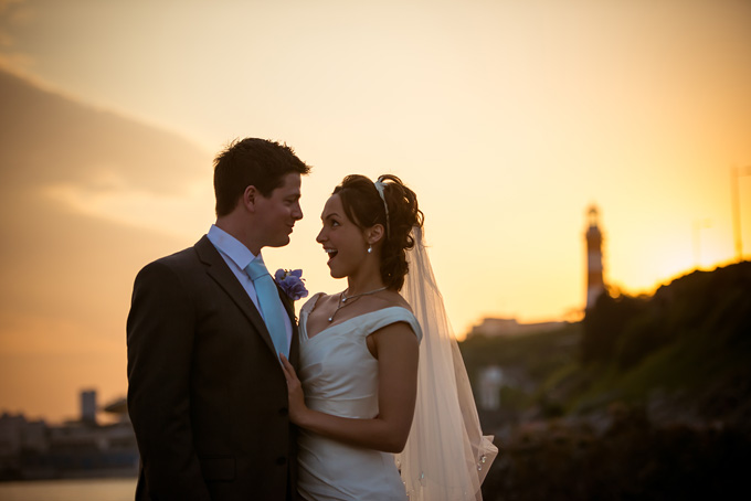 Wedding photo at St Andrew's Church in Plymouth, Devon (132)