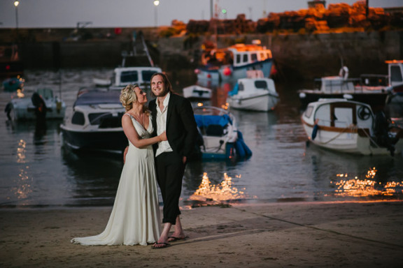 Newquay Harbour Wedding: Gemma and Steve