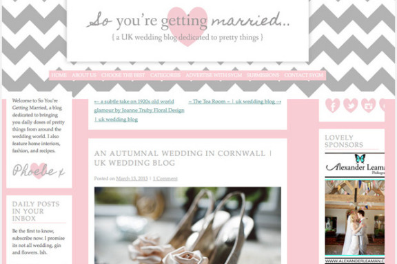 Real Wedding Feature: So You're Getting Married