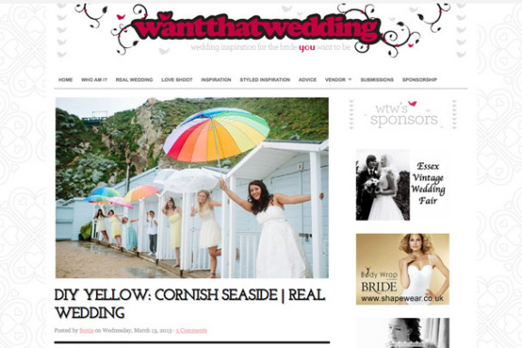 Real Wedding Feature: Want That Wedding Blog