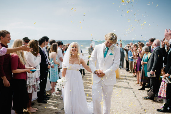 Cornwall Beach Wedding - James & Becky