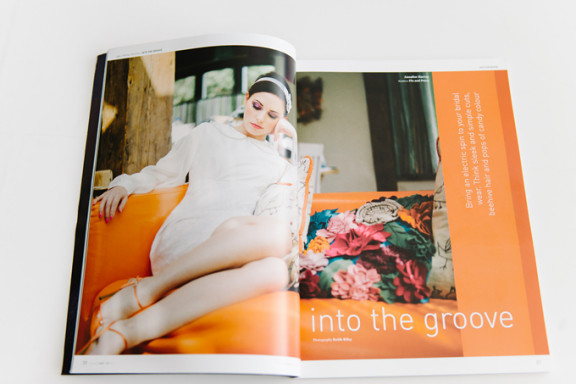 Wed Magazine Bridal Fashion Editorial - Into The Groove