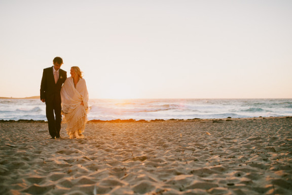 Lusty Glaze Beach Wedding: Elena & Philipp