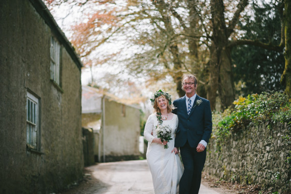 St Euny Church & Penventon Hotel Wedding: Chris and Otter