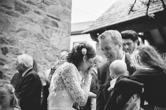 St Agnes Church & Driftwood Spars Wedding: Andy and Danielle