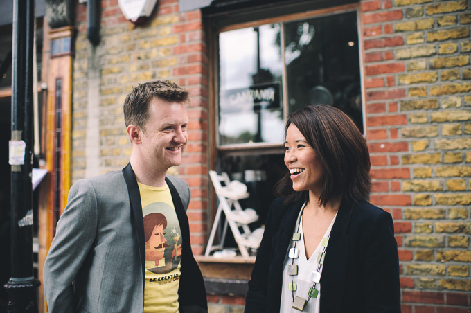 Engagement photography at London Columbia Road Flower Market (2)