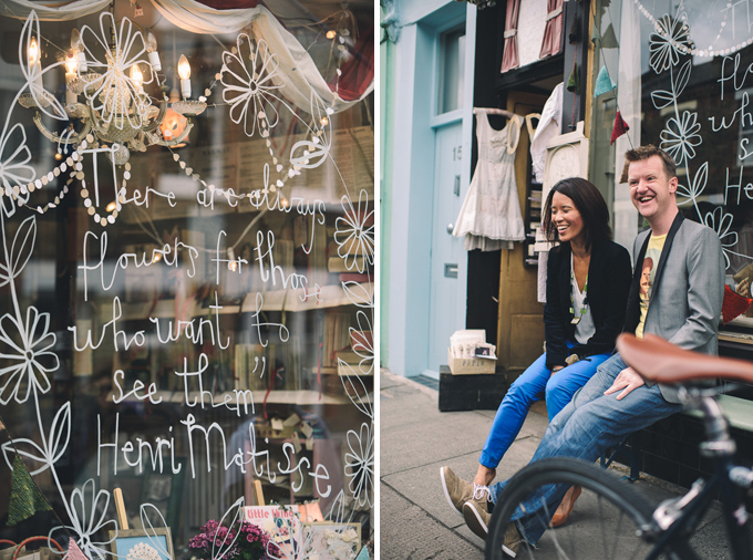 Engagement photography at London Columbia Road Flower Market (3)