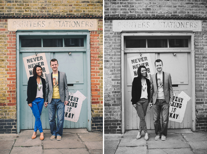 Engagement photography at London Columbia Road Flower Market (9)