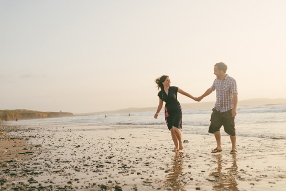 Beach Engagement Shoot: Zoe and Andy
