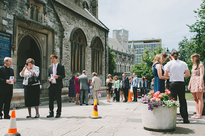 St Andrew's Church and Langdon Court wedding photo 43