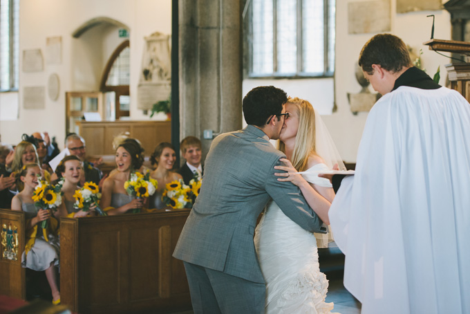 St Andrew's Church and Langdon Court wedding photo 68