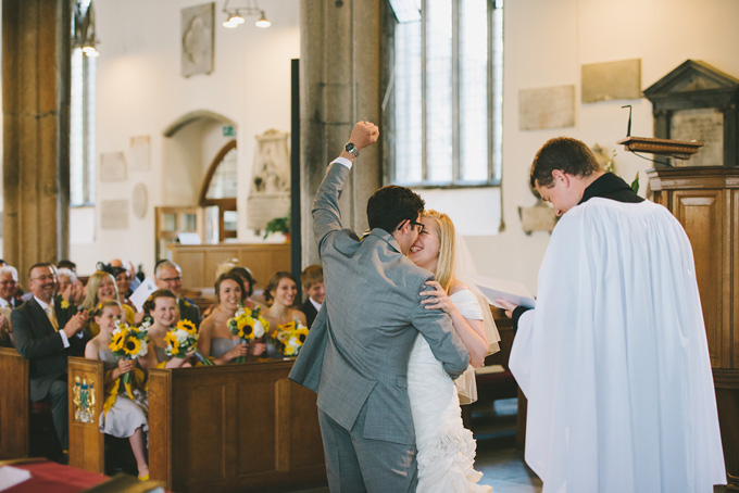 St Andrew's Church and Langdon Court wedding photo 69