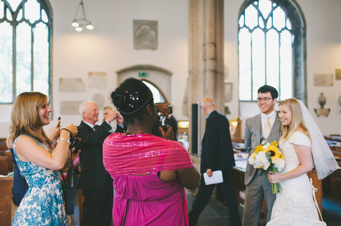 St Andrew's Church and Langdon Court wedding photo 98