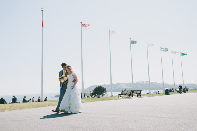 Plymouth Hoe wedding photo 112