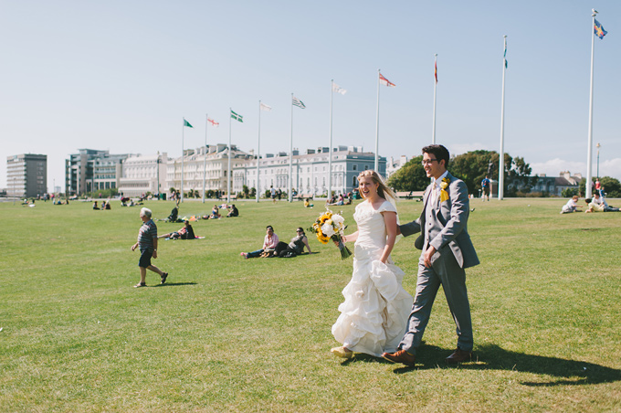 Plymouth Hoe wedding photo 114