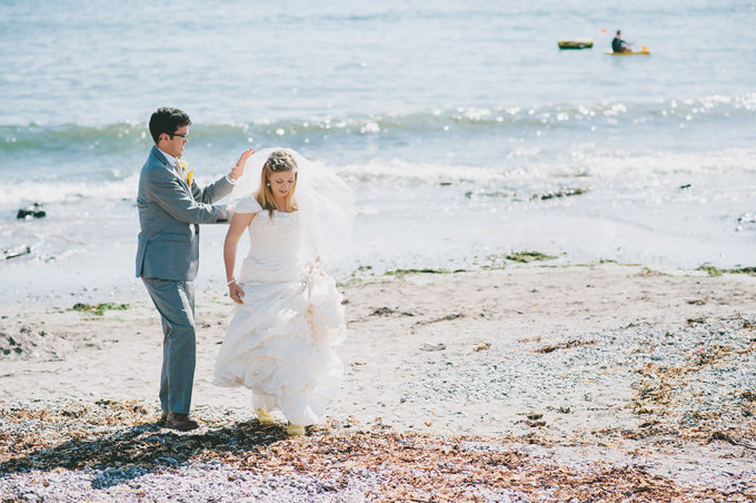 Wembury beach wedding photo 116
