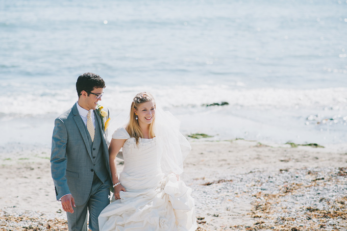 Wembury beach wedding photo 117