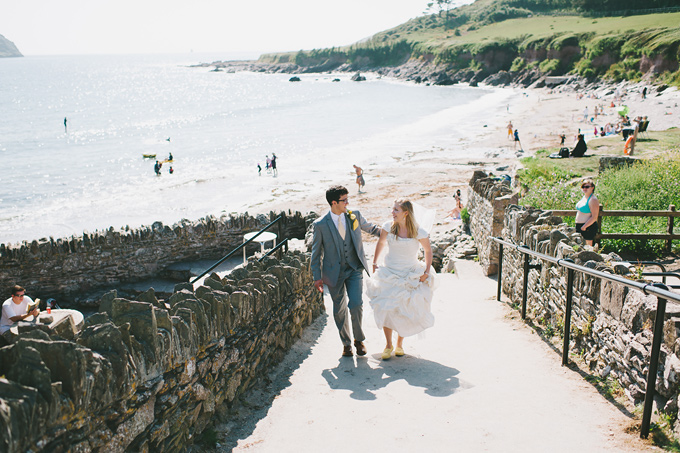 Wembury beach wedding photo 118