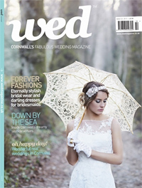 Wed Magazine Cornwall issue 25 cover