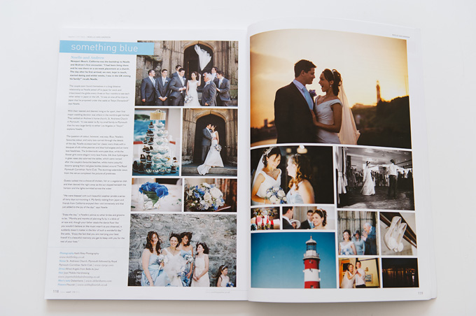 Wed Magazine Devon wedding feature