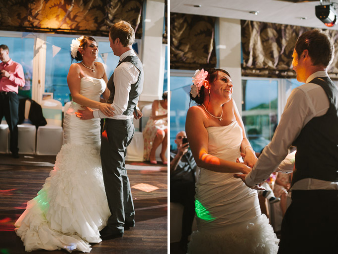 St Ives Harbour Hotel wedding, Chris and Rachel 158