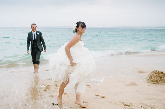St Ives Harbour Hotel wedding, Chris and Rachel 95