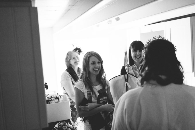 The Lugger Hotel wedding, Ellie and Phil 18
