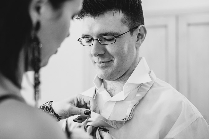 The Lugger Hotel wedding, Ellie and Phil 21
