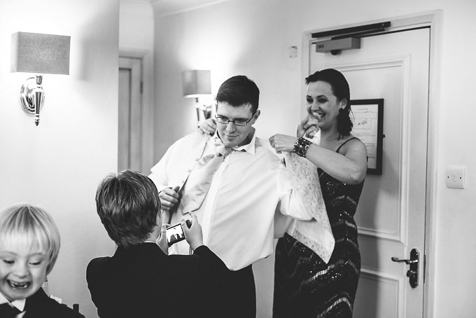 The Lugger Hotel wedding, Ellie and Phil 22