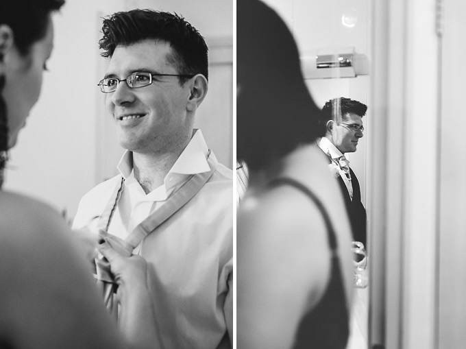 The Lugger Hotel wedding, Ellie and Phil 24