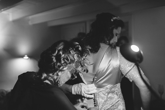 The Lugger Hotel wedding, Ellie and Phil 33