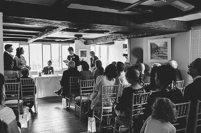 The Lugger Hotel wedding, Ellie and Phil 47