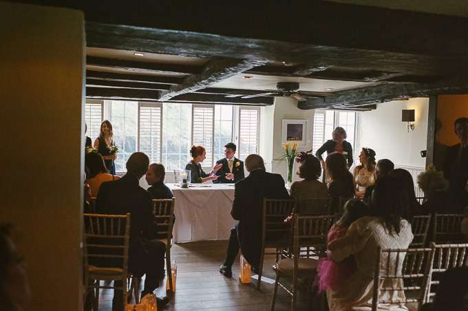 The Lugger Hotel wedding, Ellie and Phil 53