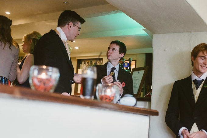 The Lugger Hotel wedding, Ellie and Phil 68