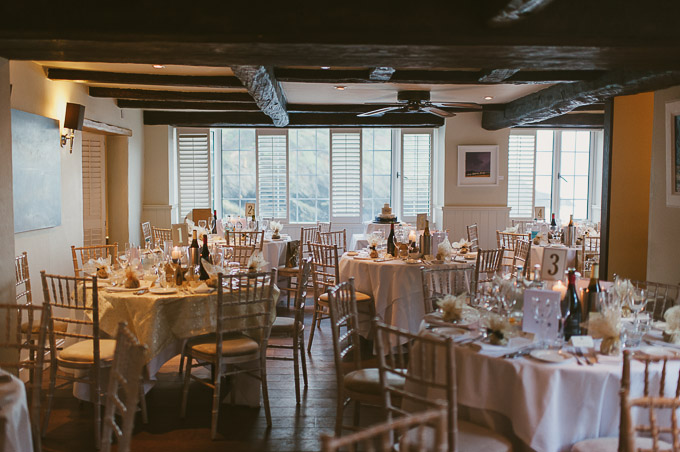 The Lugger Hotel wedding, Ellie and Phil 77