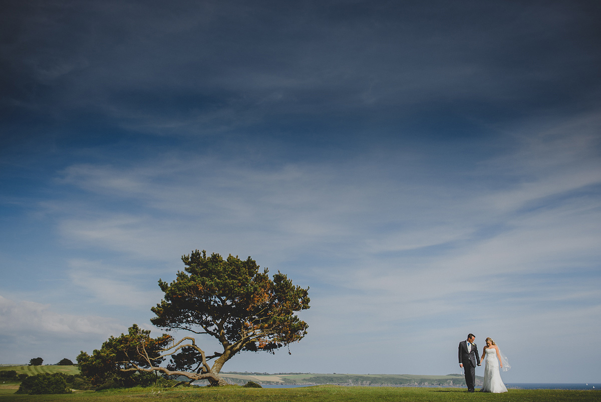 Carlyon Bay Hotel wedding photo