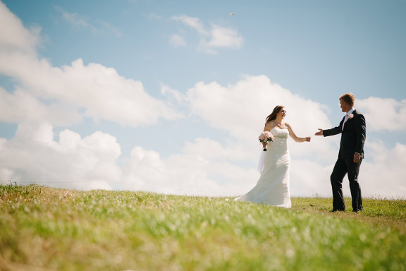 Claire and Ryan's Wedding in Crantock, Newquay