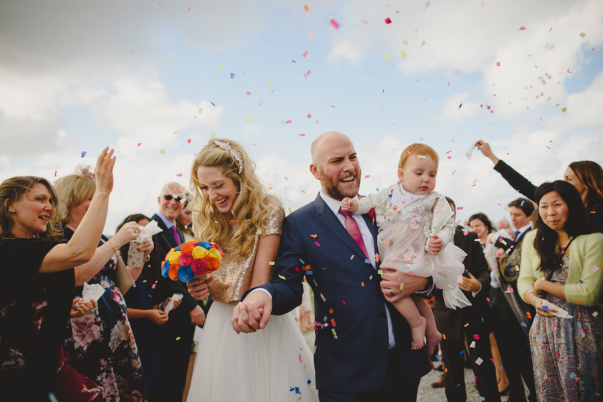 Confetti at The Headland Hotel Newquay