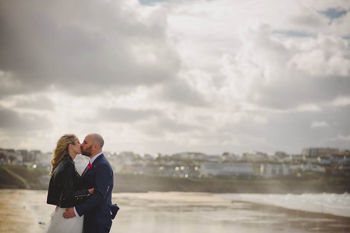 Wedding photos at The Headland Hotel