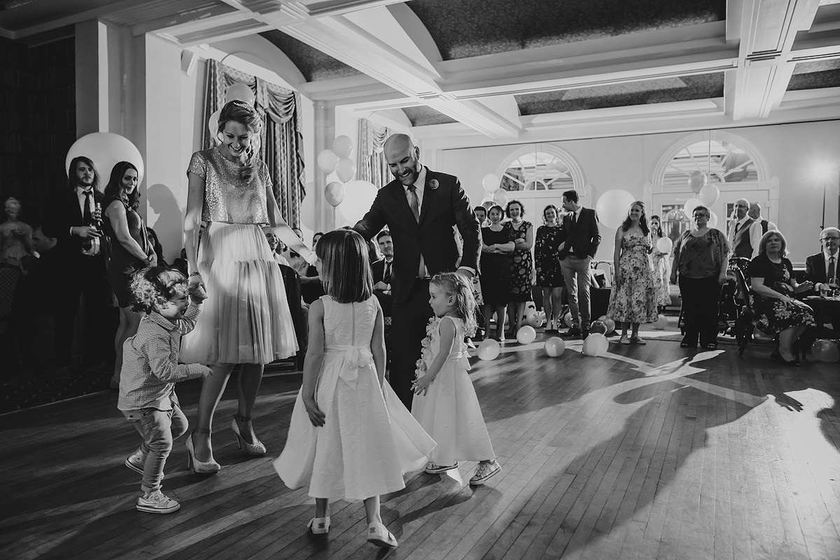 Headland Hotel first dance wedding photo